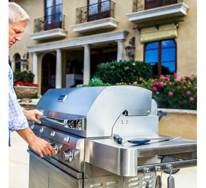 grilling safety tips - grills are meant for outdoor use only