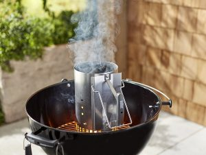 big grilling mistakes with charcoal - using lighter fluid