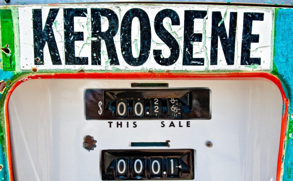 kerosene oil pump on cape cod